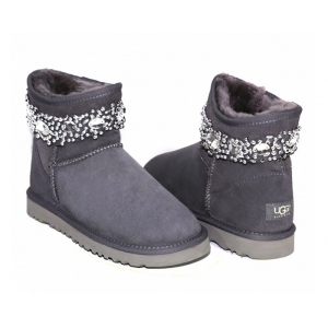 Ugg & Jimmy Choo Crystals - Grey