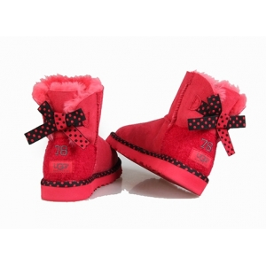 Ugg Women Bailey Bow Mini 78 - Red