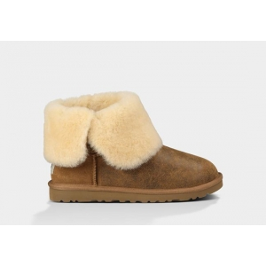 UGG Women Bailey Button Bomber - Chestnut