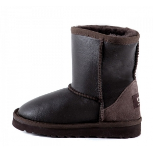 UGG Kids Classic Metallic - Chocolate
