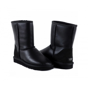 UGG Men Classic Short Metallic - Black