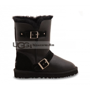 UGG Women Dylyn Leather - Black