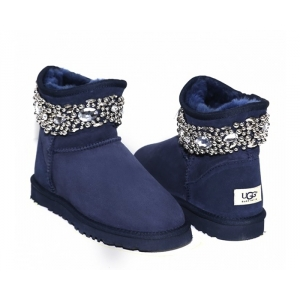 Ugg & Jimmy Choo Crystals - Navy