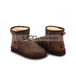 Ugg Women Classic Mini Bomber - Chocolate