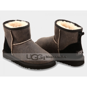 UGG Men Classic Mini Bomber - Black