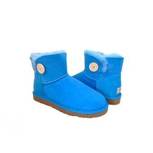 UGG Bailey Button Mini - Blue