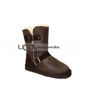 UGG Women Dylyn Bomber - Chocolate