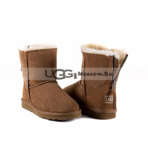 Ugg Women Zip Mini - Chestnut