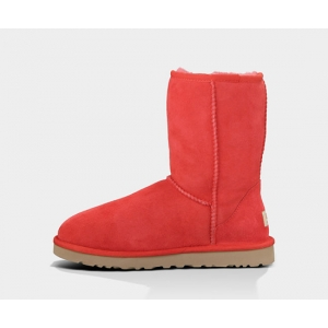 UGG Women Classic Short - Red Light