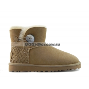 Ugg Bailey Button Mini Perla - Sand