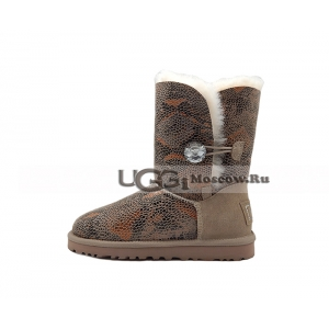Ugg Women Bailey Bling Snake - Chocolate