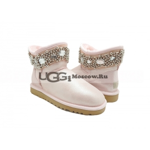 Ugg & Jimmy Choo Crystals Glitter - Rose
