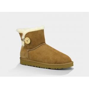 UGG Bailey Button Mini - Chestnut