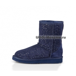 UGG Kids Classic Constellation - Blue