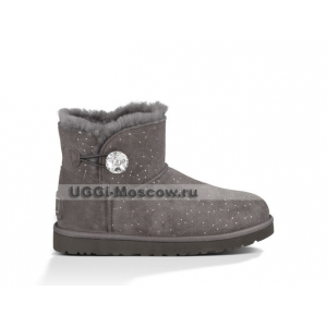 Ugg Bailey Button Mini Bling Constellation - Grey