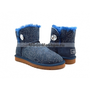 Ugg Bailey Button Mini Bling Constellation - Navy