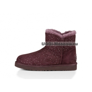 Ugg Bailey Button Mini Bling Constellation - Lodge