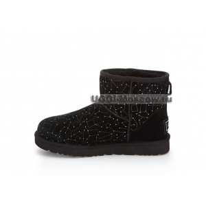 UGG Women Classic Mini Constellation - Black