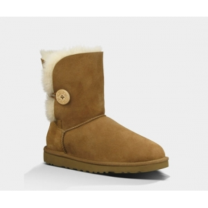 UGG Women Bailey Button Short - Chestnut