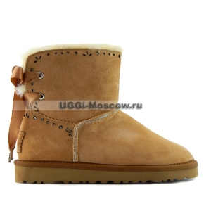 Ugg Women Mini DIXI FLORA - Chestnut