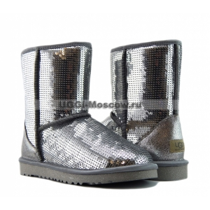 Ugg Women Sparkles - Silver NEW