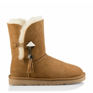 UGG Women Bailey Button Lilou - Chestnut