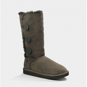 UGG Women Bailey Button Triplet - Chocolate