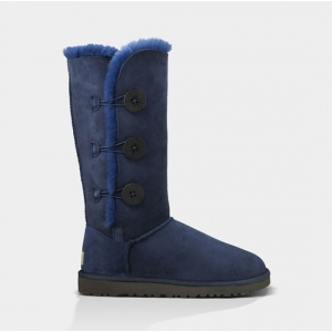 UGG Women Bailey Button Triplet - Navy